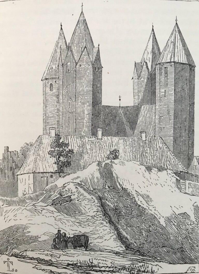 Billede 3 - Træsnit i Flinchs 'Huskalenderen for 1842'