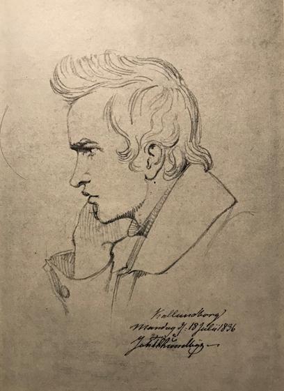 Selvportræt, Kalundborg 1836