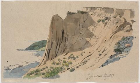 Klinten på Refsnæs. 25. August 1843