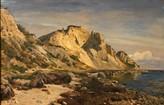 Oliemaleriet, Billede. 1, markeret med udsnit