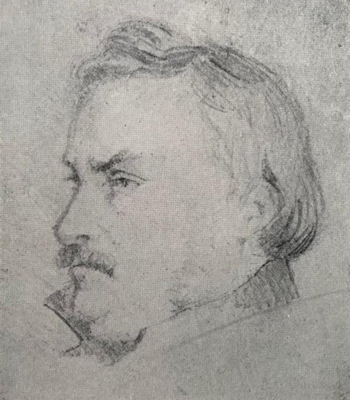 Oberst J. T. Lundbye, 1836