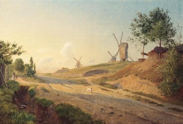 Møllebakken ved Kallundborg. 1846-47