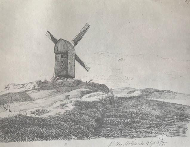 Kalundborg Møllebakke, 17, sept. 1846
