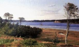 Lundbye – Parti fra Kalundborg fjord