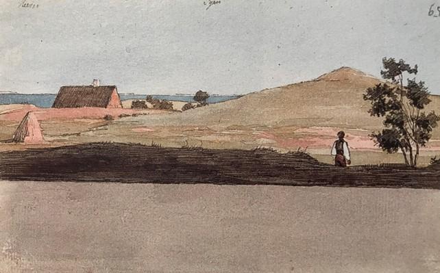Udsigt fra Asnæs, 1839