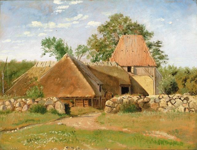 Teglværket på Asnæs. 1. Juli 1847