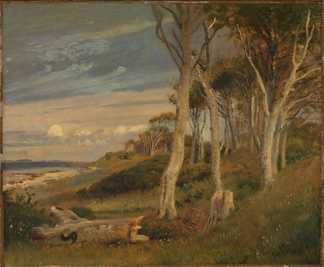 Skrænterne ved Asnæs Dyrehave, 1847