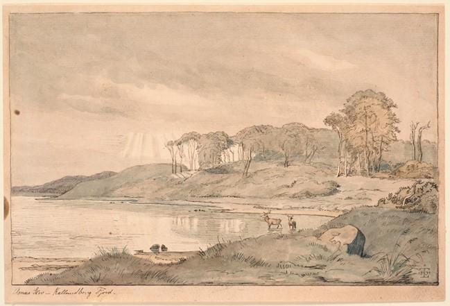 Asnæs Skov – Kallundborg Fjord. 1839