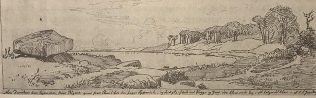 Men Dansken har hjemme hvor Bøgene groe. Fra en gruppe af tegninger til vennen Freunds børn. 1848
