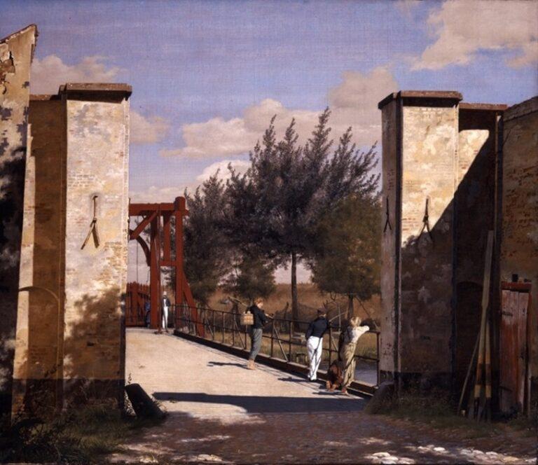 Christen Købke Ved Kastellets Port, 1834