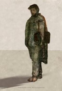 Maja Lisa Engelhardt - foreløbig skitse til Lundbye-skulpturen