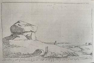 Blyantsskitse med forlæg til maleriet, 1839