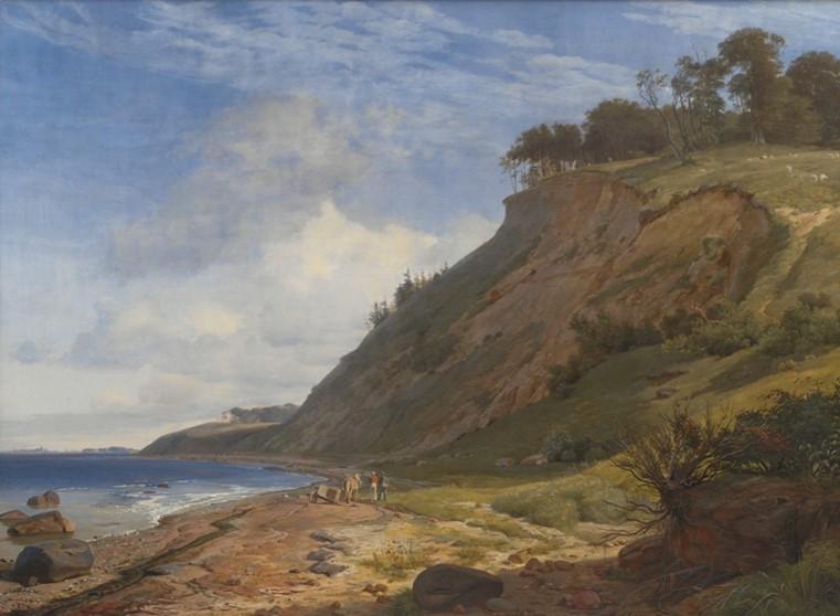 J. Th. Lundbye 'En dansk Kyst', 1843