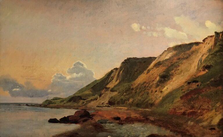 Lundbye: Studie fra stranden ved Refsnæs, Juni 1847