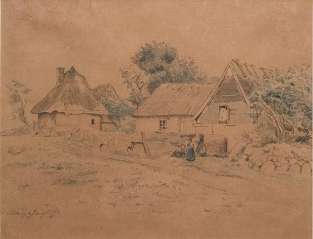 Lundbye: Ulstrup, Juny 1847