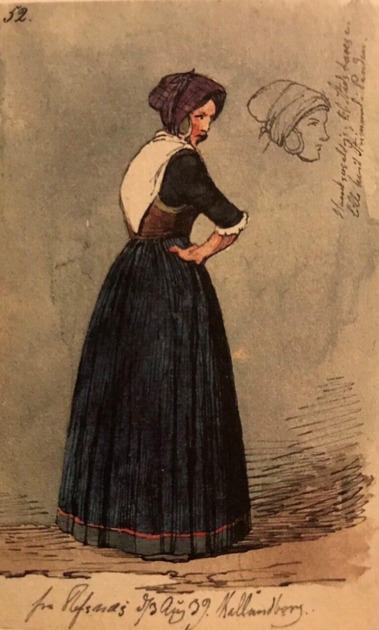 Lundbye: Refsnæskone, 1839